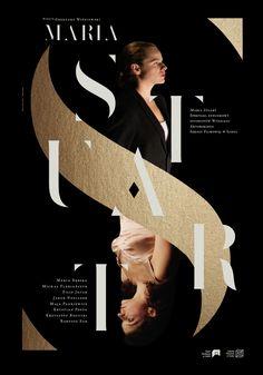 poster | MARIA — Krzysztof Iwanski #typography