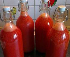 Rezept Sandra`s Erdbeerlimes mmmhhhh von Sandra H. - Rezept der Kategorie Getränke