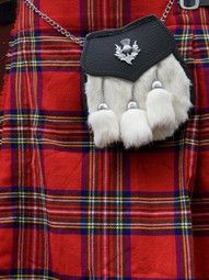 Scottish Kilt & Sporran
