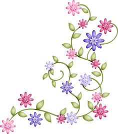 embroidery pattern from 4 galleryru Ribbon Embroidery, Embroidery Stitches, Embroidery Patterns, Garden Embroidery, Brazilian Embroidery, Borders And Frames, Fabric Painting, Machine Embroidery Designs, Flower Art