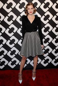 """Allison Williams - DVF """"Journey of a Dress"""" Opening Party"""