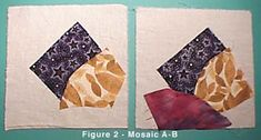 How to sew a crazy quilt block - CARON Collection On-line Class