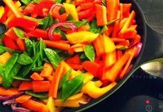Frisches Gemüse süß-sauer - schnell gemacht, vegan und mega lecker!