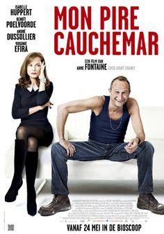 Mon pire cauchemar - komedie met de stijlvolle galeriehoudster Isabelle Huppert en Benoît Poelvoorde als de flierefluitende levensgenieter. Lees erover op: http://www.fransefilms.nl/mon-pire-cauchemar/