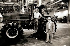Last tractor off the line at Farmall