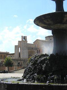 Italy, Sulmona ~ Piazza Garibaldi
