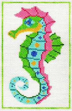 Seahorse -- Barbara Bergsten