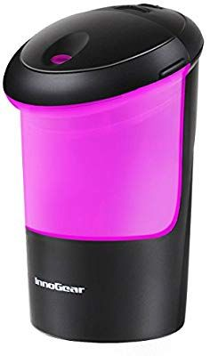 InnoGear USB Car Essential Oil Diffuser Air Refresher Ultrasonic Aromatherapy Diffusers with 7 Colorful LED lights for Office Travel Home Vehicle Essential Oil Gift Set, Best Essential Oil Diffuser, Homemade Essential Oils, Best Essential Oils, Ultrasonic Aromatherapy Diffuser, Aromatherapy Oils, Aroma Diffuser, Car Essentials, Fragrance Oil