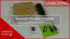 Video mit Unboxing des Bluetooth Headset Kopfhörer Rikya Q5 #unboxing #bluetoothkopfhörer #bluetoothheadset #rikyaq5