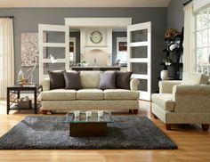 Furniture for Small & Tight Spaces - Megan Collection in Aura Sage Fabric