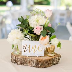 Rustic chic weddings for the very memorable wedding day, article idea stamp 7069621939 - Dazzling pointer. rustic chic weddings ideas advice posted on day 20190527 Rustic Centerpieces, Wedding Centerpieces, Wedding Decorations, Wood Slice Centerpiece, Table Decorations, Rustic Wedding Signs, Chic Wedding, Wedding Ideas, Gold Wedding