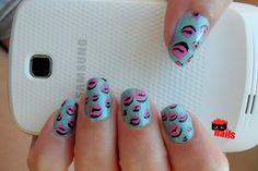 pop art nails