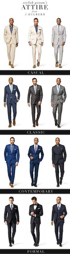 Estilos dos ternos – Dress code