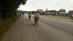 Cycling at Hjorring