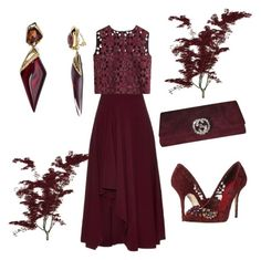 """""""Untitled #478"""" by elizmweiss ❤ liked on Polyvore featuring Alexander McQueen, Alberta Ferretti, Dolce&Gabbana, Gucci and Alexis Bittar"""