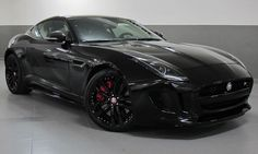 awesome Jaguar F-Type Black...  My 40th Grand Birthday Tour.
