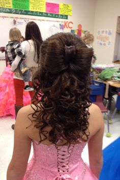 Pageant hair....Adorable
