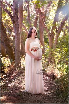 Maternity dress /  Maternity Gown by SewTrendyAccessories on Etsy, $68.00
