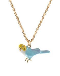 parakeet necklace from ASOS #necklace #hangit