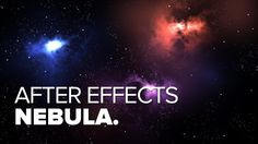 creating a nebula After effects