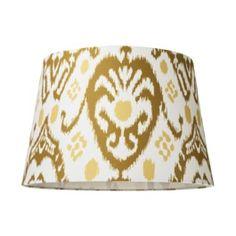 Ikat lampshade at Target