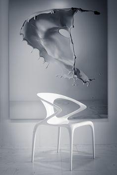 Ava chair by Song Wen Zhong,