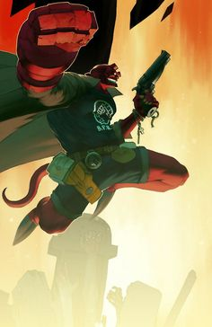Hellboy!! Favourite paranormal superhero OF...all time <3