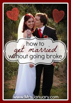 How to Get Married Without Going Broke