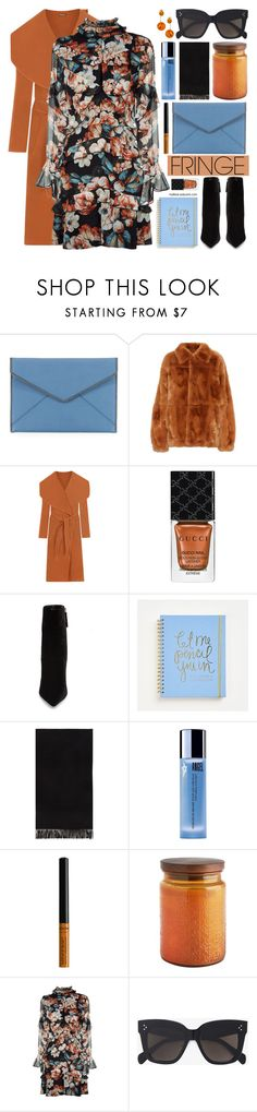 """Fringe"" by mylkbar ❤ liked on Polyvore featuring Rebecca Minkoff, Marni, WearAll, Gucci, Daya, rag & bone, Thierry Mugler, Pier 1 Imports, Nicholas and CÉLINE"