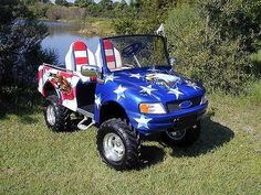Custom Golf Cart 02