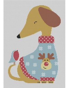 Christmas Friends Cross Stitch Pattern Counted Cross Stitch Patterns, Cross Stitch Designs, Cross Stitch Embroidery, Granny Square Projects, Pixel Crochet, Christmas Cross, Christmas Charts, Tapestry Crochet, Cross Stitching