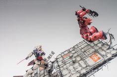 GUNDAM GUY: 'COUNTER ATTACK' GBWC 2016 Korea Entry - Diorama Build