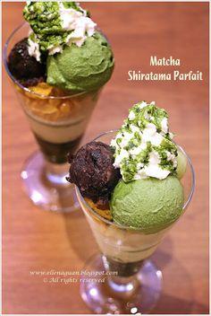 Nana's Green Tea Cafe At Plaza Singapura  ~ Matcha Shiratama Parfait @ S$11.80