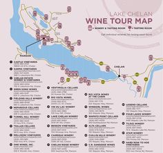 Download And Print The Woodinville Wine Country Map Of