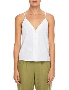 New In | Buy Latest Women's Clothing & Shoes | David Jones Premium Brands, David Jones, Cami, Women's Clothing, Clothes For Women, Tank Tops, Summer, Cotton, Stuff To Buy