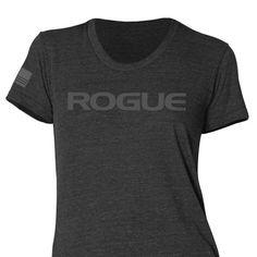 Rogue Women's Basic Shirt - Heather Black