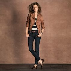 FOSSIL® Clothing Jackets & Outerwear:Women Lizzy Leather Jacket WC5225