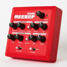 MeeBlip triode synthesizer