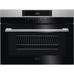 Have the benefits of a larger fan oven plus the speed of a microwave with this stainless-steel AEG compact combination oven and microwave. Compact Microwave Oven, Built In Microwave Oven, Built In Ovens, Microwave Combination Oven, Four Micro Onde, Home, Cuisine