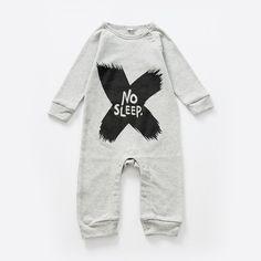 0c2d57c00 0-24 Meses Baby Boy Ropa de Algodón Letras Impresas Gris Negro de Manga  Larga Trajes de Los Mamelucos Del Mono Recién Nacido Ropa otoño V30
