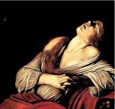 """""""ëxtasis de Maria Magdalena"""". Caravaggio"""
