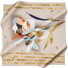 Aker Refreshing and Eloquent Silk Scarf Headscarves, Silk Scarves, Designing Women, Hijab Fashion, Shawl, Fashion Accessories, Graphics, Fashion Design, Beautiful