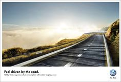 Volkswagen: Feel driven by the road.
