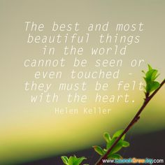 Great quote from Helen Keller