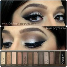 Urban Decay Naked Palette 2 | Makeup Look | Makeup by Cristina Underwood- for Tahoe!