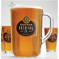 GIFTS FOR MEN: Personalized Barley Pitcher