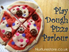 cool :o) Play dough pizza parlour......Kids will love this and play for HOURS!!!!!