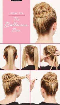 How to: Ballerina Bun