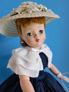 Vintage Beautiful - CISSY DOLL - All Original -