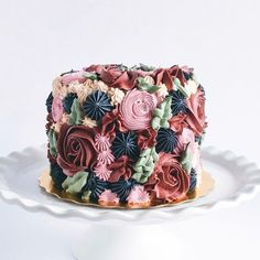 We are OBSESSED with these gorgeous colourful cakes by ! Colorful Cakes, Custom Cakes, Cake Decorating, Decorating Ideas, Deserts, Floral, Weddingideas, Food, Instagram